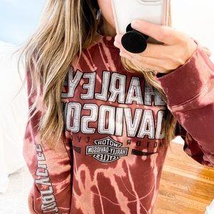 Harley Davidson Crewneck Sweatshirt Size Large